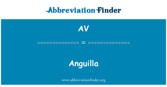 AV: Anguilla