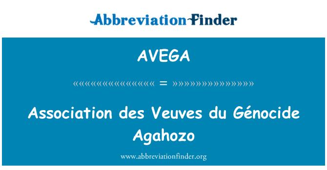 AVEGA: Association des Veuves du Génocide Agahozo