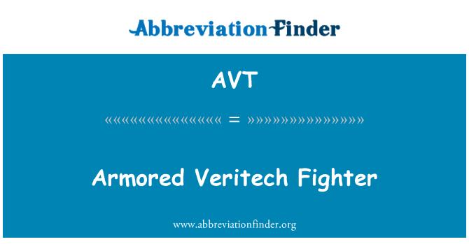 AVT: Armored Veritech Fighter