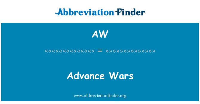 AW: Advance Wars