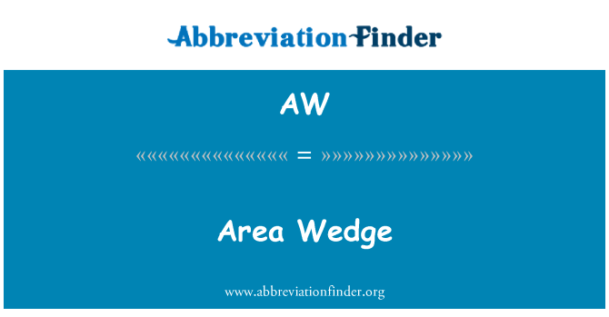 AW: Area Wedge