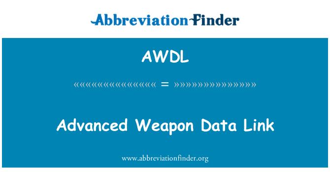 AWDL: Gelişmiş silah veri bağlantısı