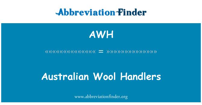 AWH: Australian Wool Handlers