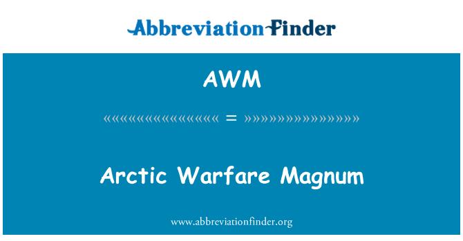 AWM: Arctic Warfare Magnum
