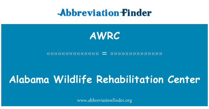 AWRC: Alabama Wildlife Rehabilitation Center
