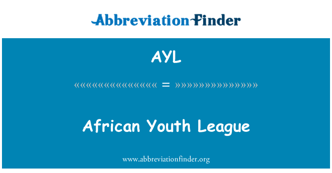 AYL: African Youth League