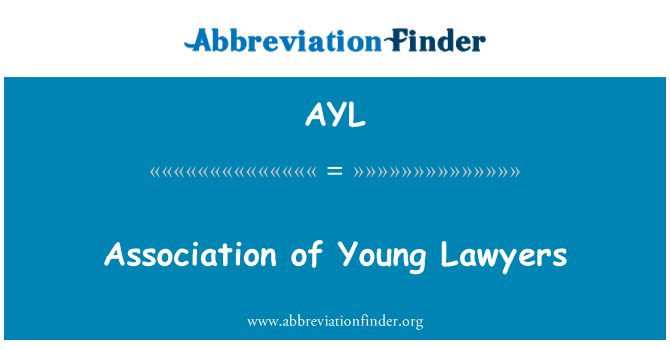 AYL: Association of Young Lawyers