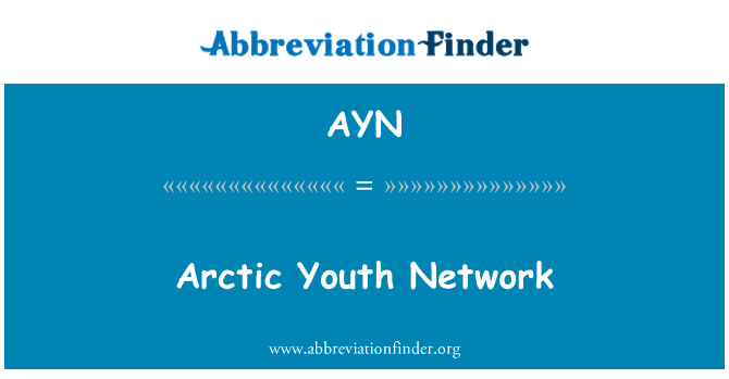 AYN: Arctic Youth Network