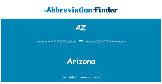 AZ: Arizona