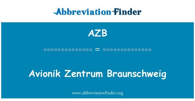 AZB: Avionik Zentrum Braunschweig