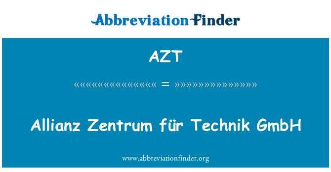 AZT: Allianz Zentrum für Technik GmbH