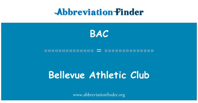 BAC: Bellevue Athletic Club