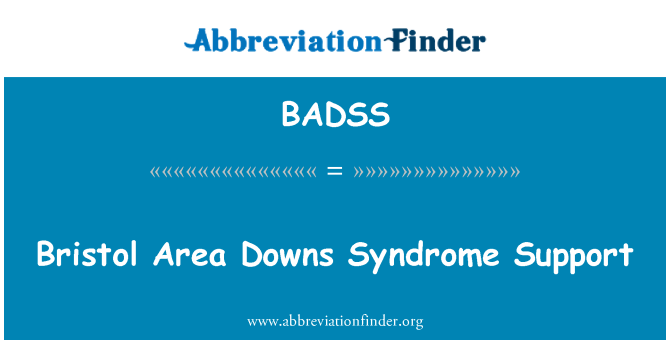 BADSS: Bristol Area Downs Syndrome Support