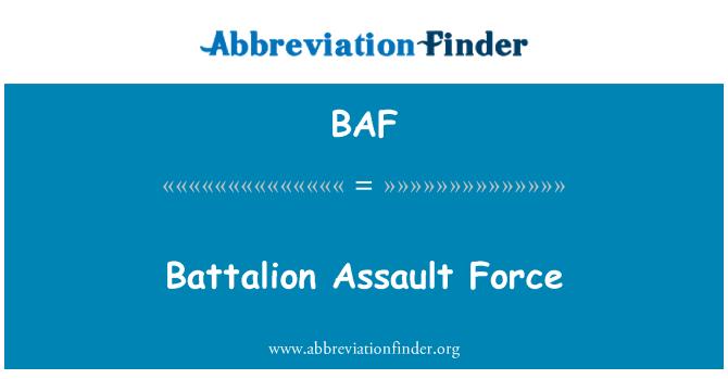 BAF: Battalion Assault Force