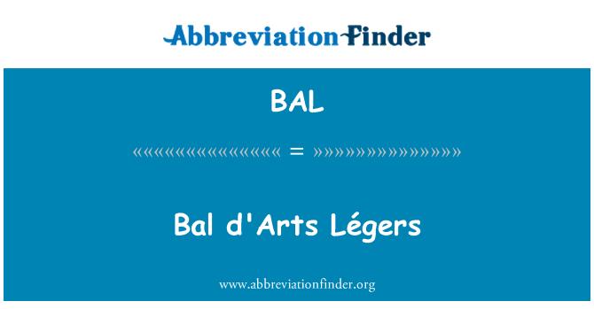 BAL: Bal d'Arts Légers