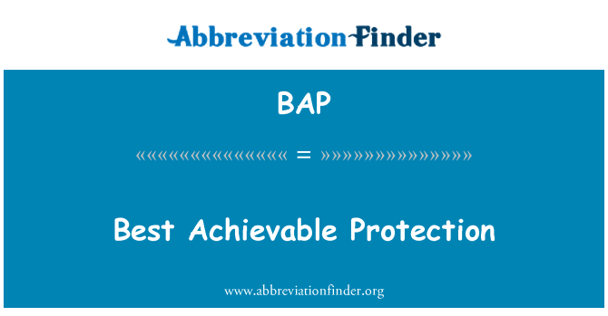 BAP: Best Achievable Protection