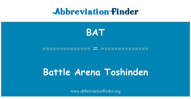 BAT: Battle Arena Toshinden