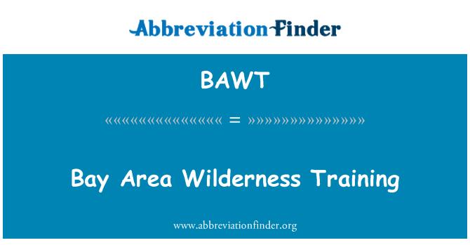 BAWT: Bay Area Wilderness Training