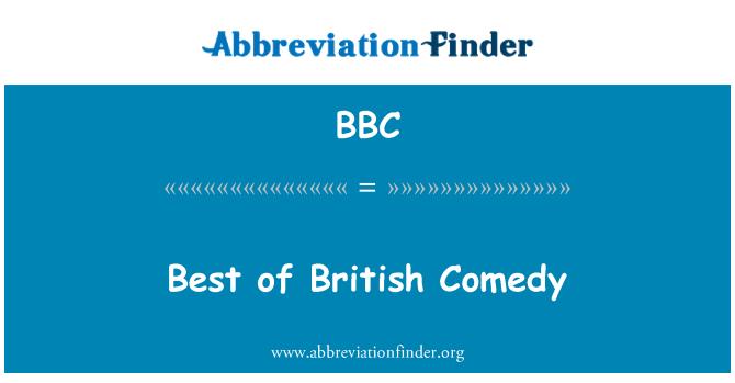 BBC: Best of British Comedy