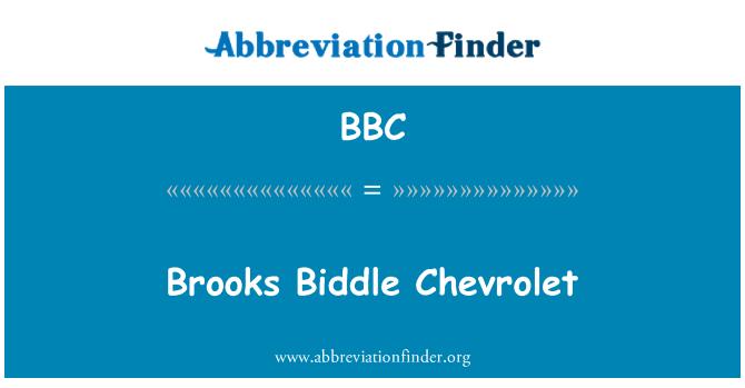 BBC: Brooks Biddle Chevrolet
