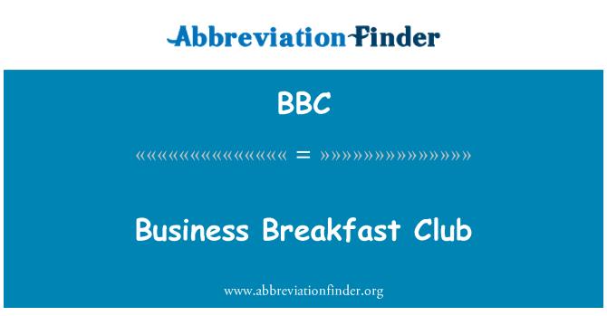 BBC: Business Breakfast Club