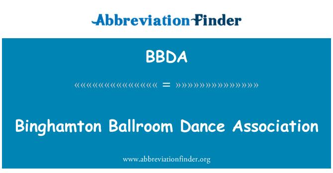 BBDA: Binghamton Ballroom Dance Association