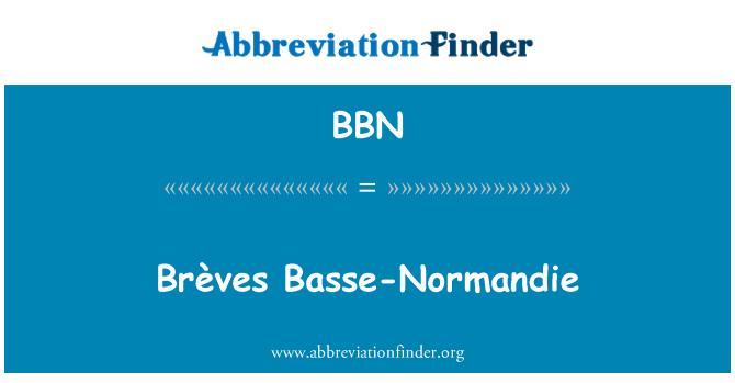 BBN: Brèves Basse-Normandie