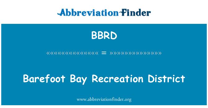 BBRD: Bos Bay rekreacija Okrug