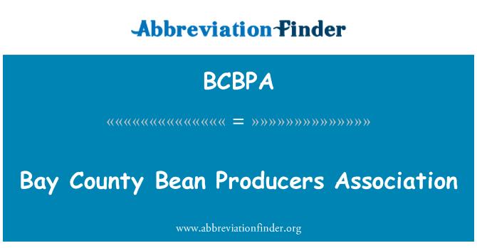 BCBPA: Bay County Bean Producers Association