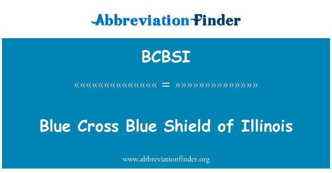 BCBSI: Blue Cross Blue Shield of Illinois