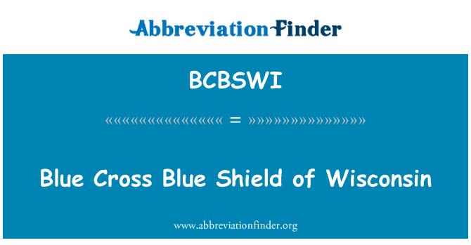 BCBSWI: 威斯康辛州的蓝十字蓝盾
