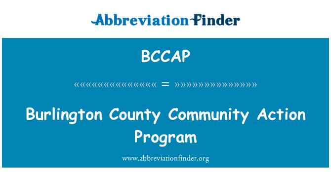 BCCAP: Burlington County Community Action Program