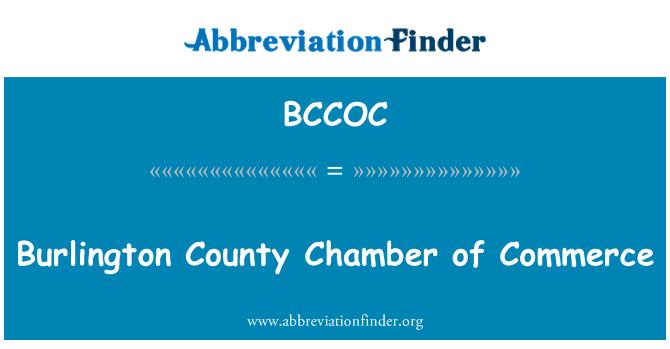 BCCOC: Burlington County Chamber of Commerce