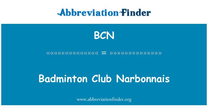 BCN: Badminton Club Narbonnais