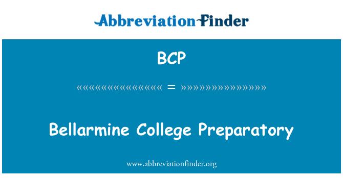 BCP: Bellarmine College Preparatory