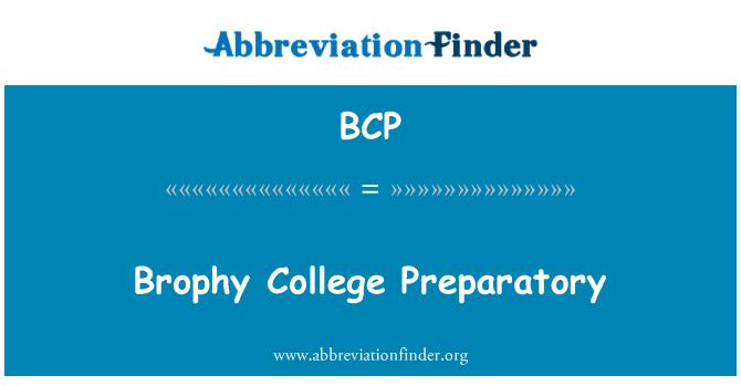 BCP: Brophy College Preparatory