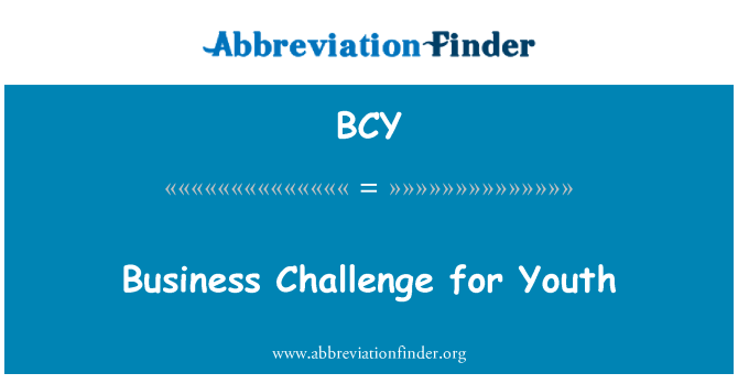 BCY: Business Challenge for Youth