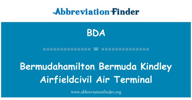 BDA: Bermudahamilton 百慕大金德利 Airfieldcivil 空气终端