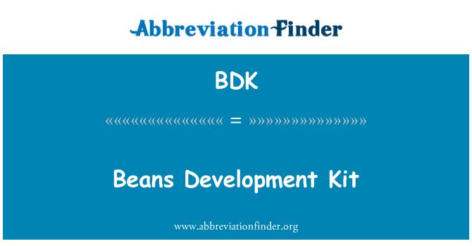 BDK: Beans Development Kit