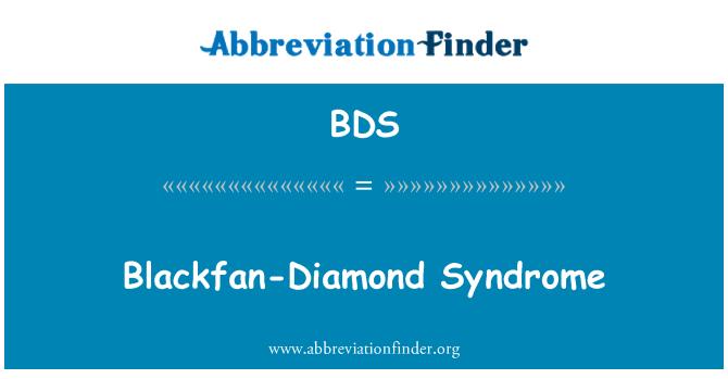 BDS: Blackfan-Diamond Syndrome