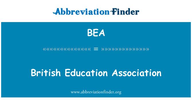BEA: British Education Association