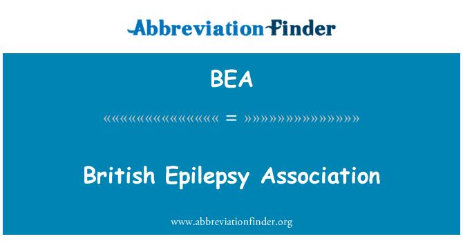BEA: British Epilepsy Association