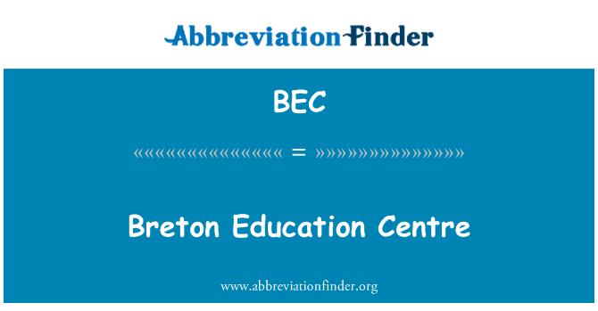 BEC: Breton Education Centre