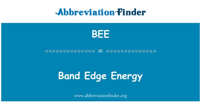 BEE: Borde de banda de energía