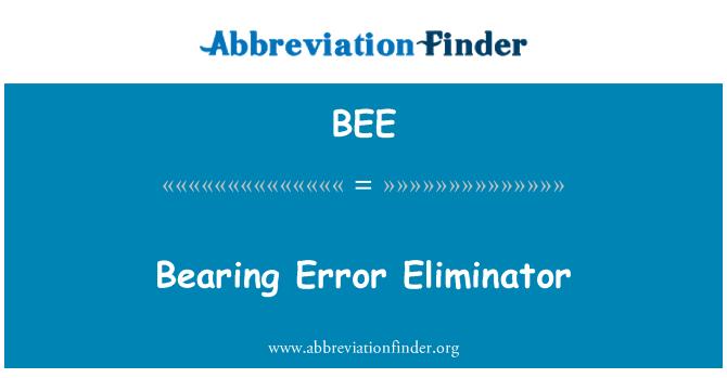 BEE: Laager viga Eliminator