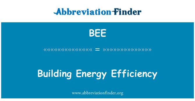 BEE: Ehitise energiatõhususe