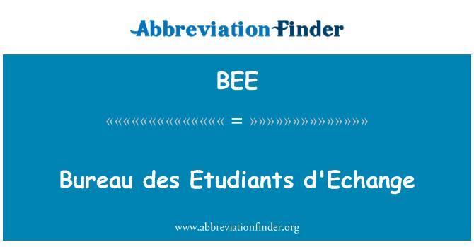 BEE: Büroo des Etudiants d'Echange