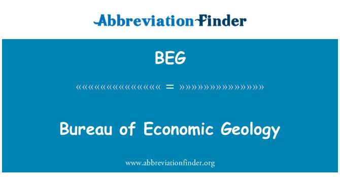 BEG: Bureau of Economic Geology