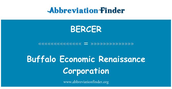 BERCER: Corporación de renacimiento económico de Buffalo