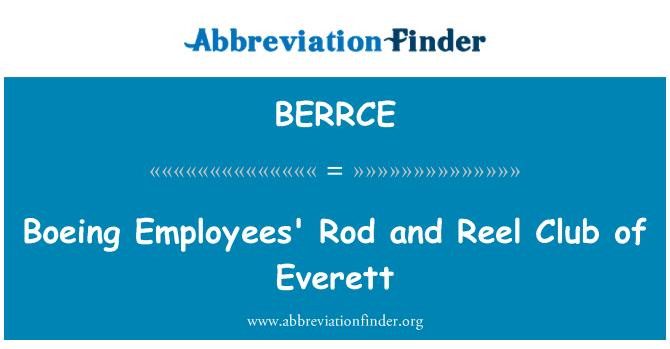 BERRCE: 波音雇员杆和卷轴俱乐部的埃弗里特